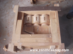 wooden mold for aluminum pattern